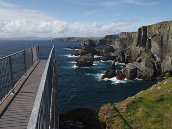 Mizen Head Signal Station airwalk